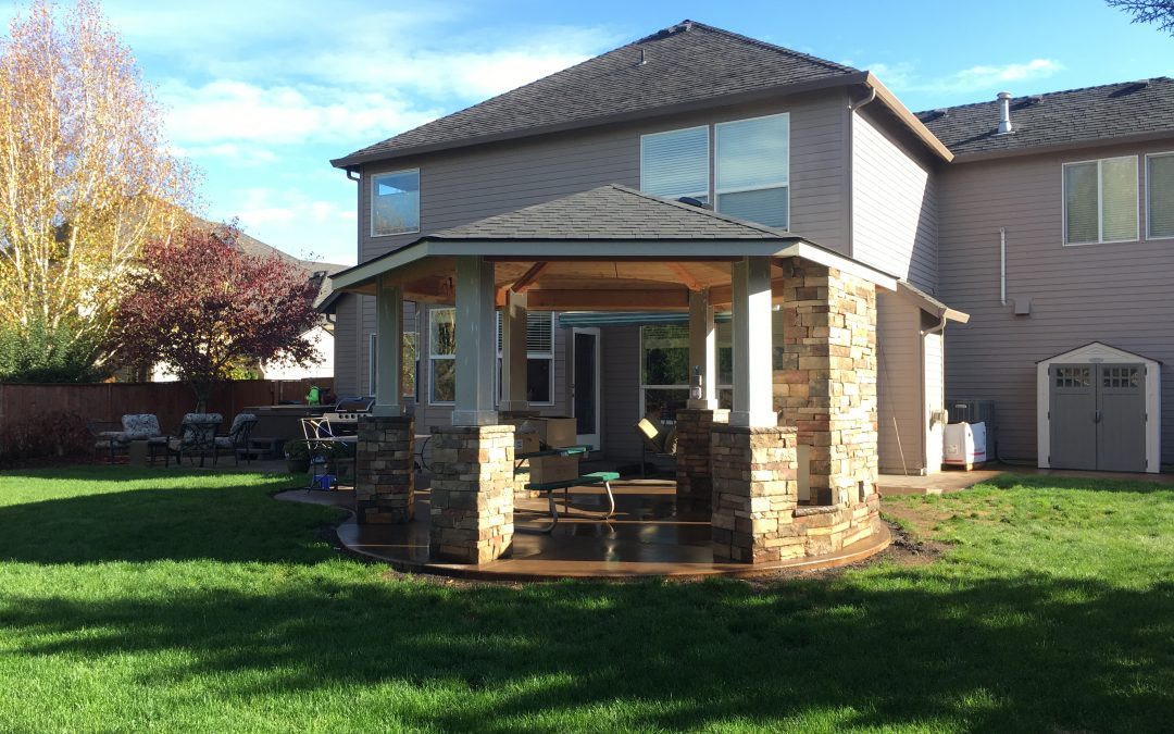New Siding with Paint, Doors and Windows, and Patio Cover in Beavercreek, OR