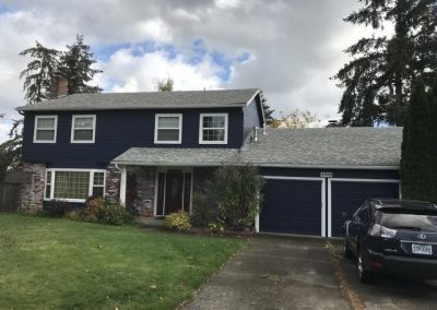 Full Siding Replacement with Paint in Portland, OR