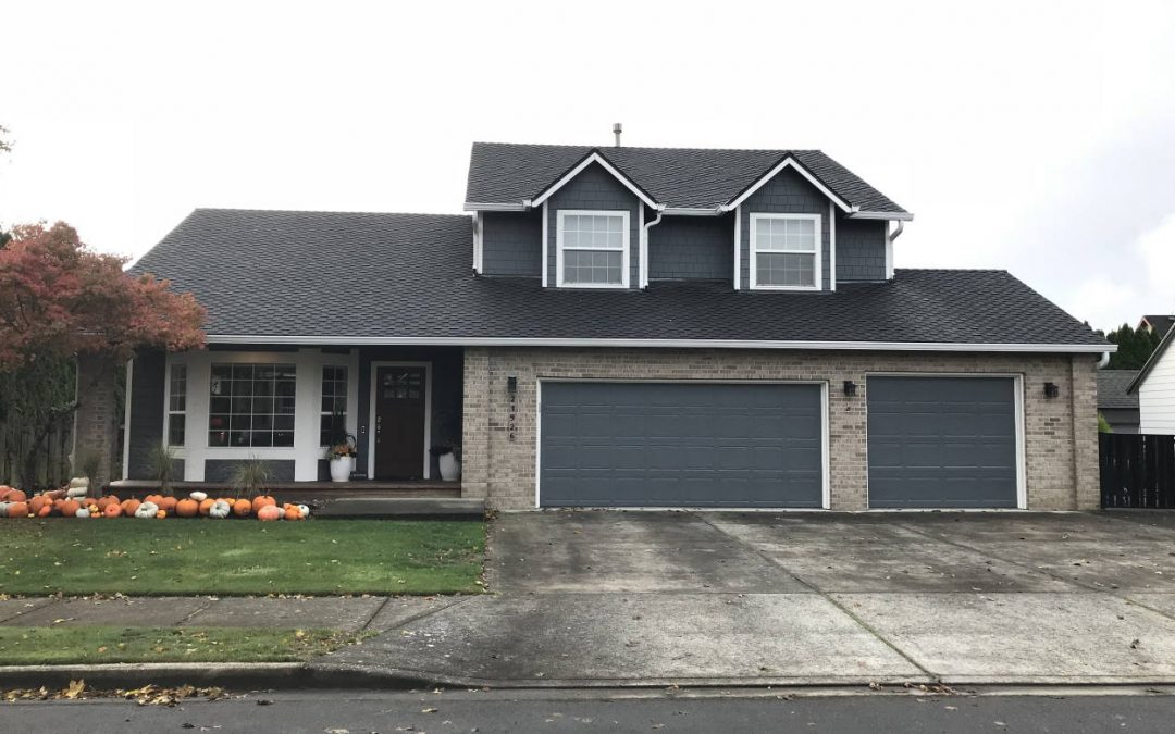 Siding with Paint and New Garage Doors in Gresham, OR